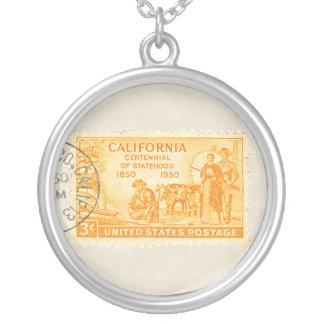 Collar del Centennial de California 1850 del vinta