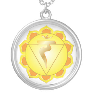 collar del chakra del manipura o del plexo solar