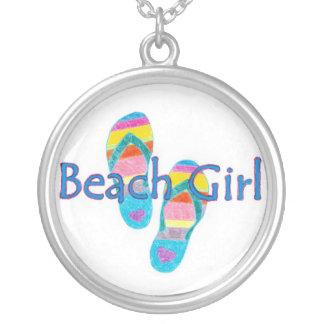 Collar del chica de la playa