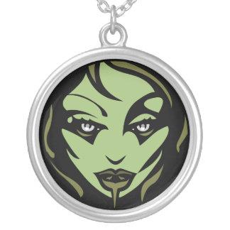 Collar del chica del zombi de Halloween del collar