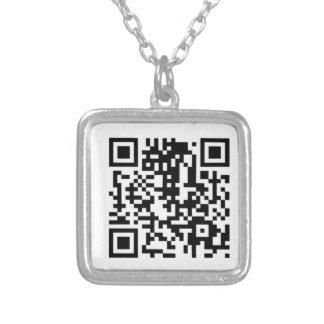 Collar del código de la alabanza QR del Westside