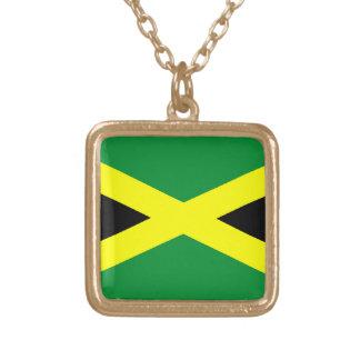 Collar del colgante de la bandera de Jamaica