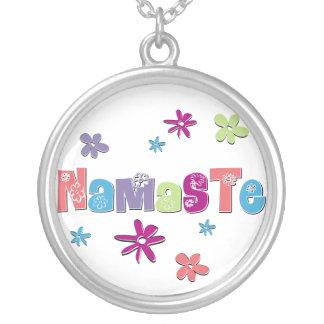 Collar del colgante de Namaste