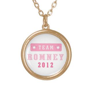 Collar del colgante de Romney 2012 del equipo