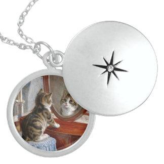 Collar del colgante del gato del gatito
