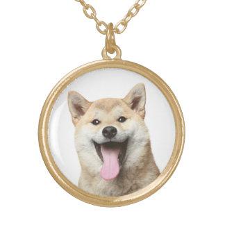 Collar del colgante del perro de perrito de Shiba