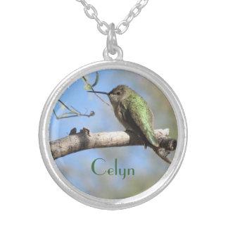 Collar del colibrí de Personalizable