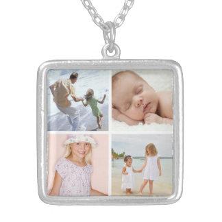Collar del collage de la foto de los niños de la m