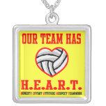 Collar del corazón de VolleyChick
