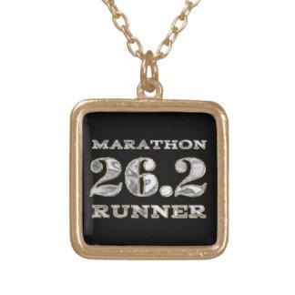 Collar del corredor del maratón 26,2