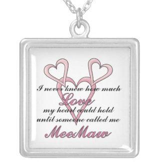 Collar del día de madre de MeeMaw (nunca sabía)