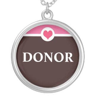 Collar del donante de órganos