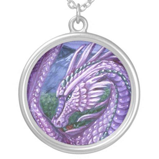 Collar del dragón del Alexandrite