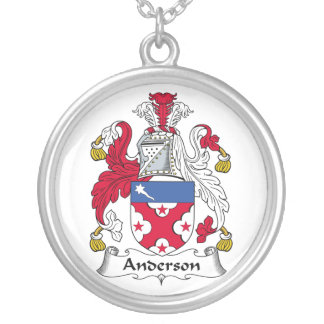 Collar del escudo de la familia de Anderson