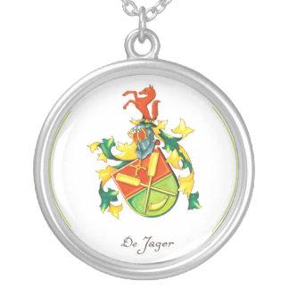 Collar del escudo de la familia de DeJager