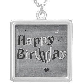 Collar del feliz cumpleaños