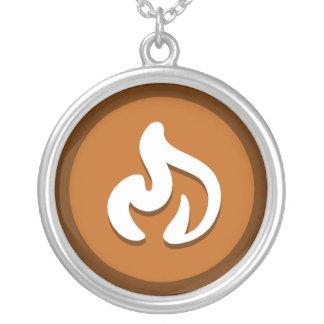 """Collar del """"fuego"""" de la yoga"""