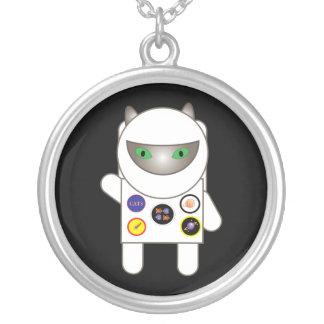 Collar del gatito del astronauta