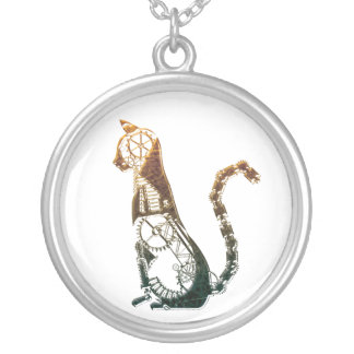 Collar del gato de Steampunk