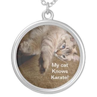 collar del gato del karate