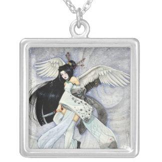 Collar del geisha de la nieve y de las plumas sam