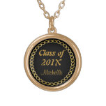 Collar del graduado de la cadena del oro