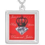Collar del jubileo de diamante del Queens