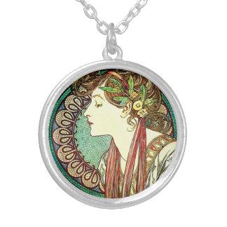 Collar del laurel de Alfonso Mucha