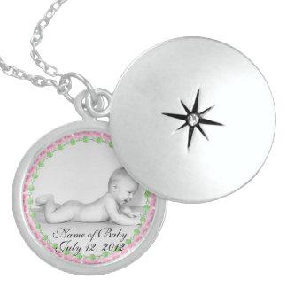 Collar del Locket de la plata esterlina del recuer