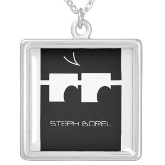 Collar del logotipo de la música de Steph Borel