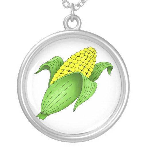 Collar del maíz en la mazorca