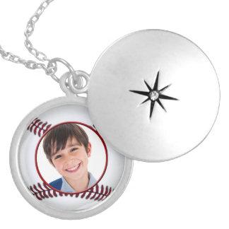 collar del marco de la foto de la bola del béisbol