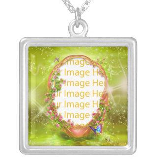 Collar del marco de la foto de la fantasía del jar