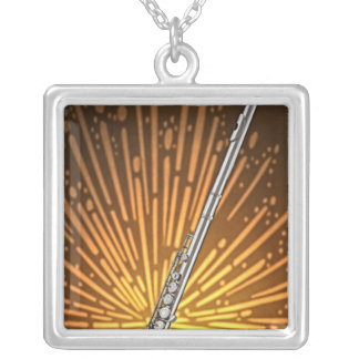 Collar del músico de la flauta o del flautista