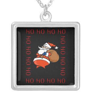 Collar del navidad de Santa Ho Ho Ho Ho