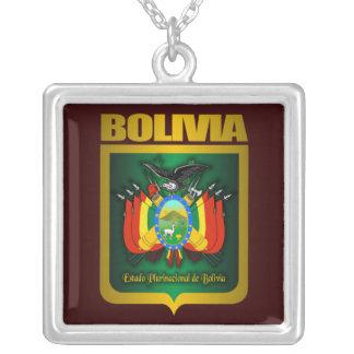 """""""Collar del oro de Bolivia"""" Colgante Cuadrado"""
