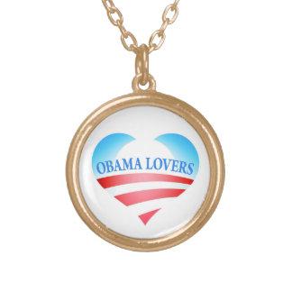 Collar del oro del logotipo del miembro