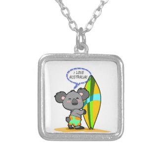 Collar del oso de koala de la resaca