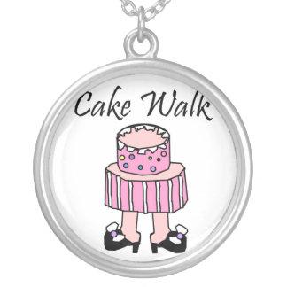 collar del paseo de la torta