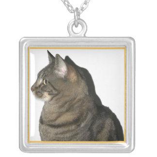 Collar del perfil del gato del Calypso