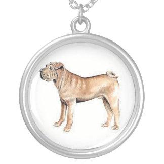 Collar del perro de Shar-Pei del chino