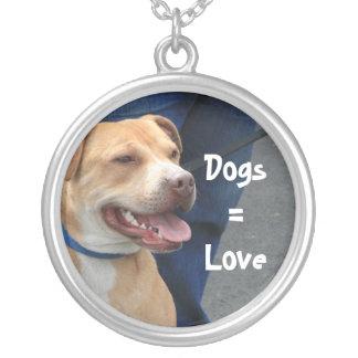 Collar del perro = del pitbull del amor