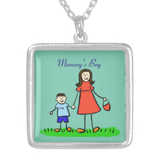 Collar del personalizado del muchacho de la mamá