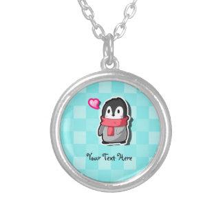 Collar del personalizado del pingüino de Chibi