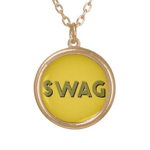 Collar del personalizado del SWAG