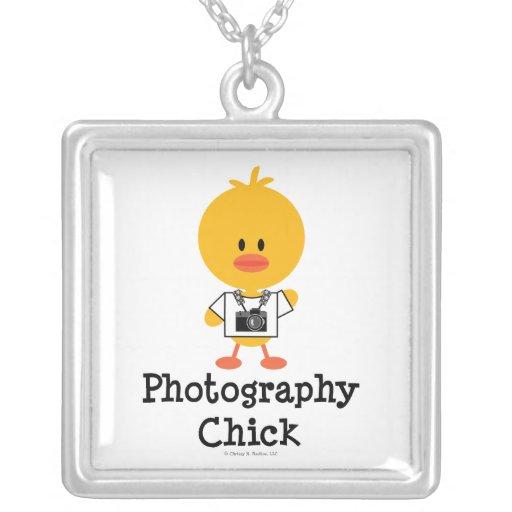 Collar del polluelo de la fotografía