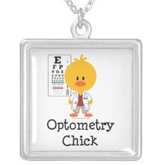 Collar del polluelo de la optometría