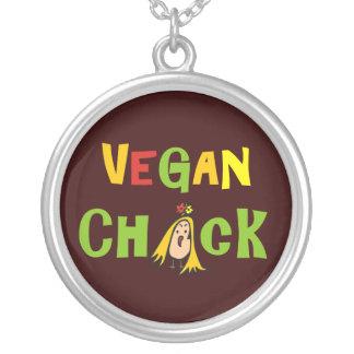 Collar del polluelo del vegano
