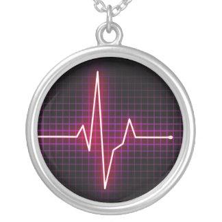 Collar del pulso ECG del latido del corazón