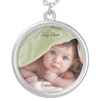 Collar del recuerdo de la foto del bebé